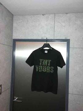 TMTティーエムティー/TMT YOURS BIG3プリントTシャツ/S