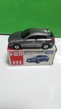 絶版   NO.111   NISSAN   SKYLINE   CROSSOVER