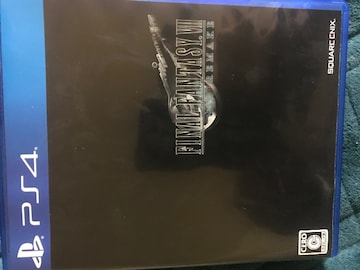 PS4ファイナルファンタジー7リメイク