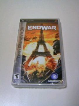 レア 新品 PSP Tom Clancy's ENDWAR 海外北米版/トムクランシーズ エンドウォー