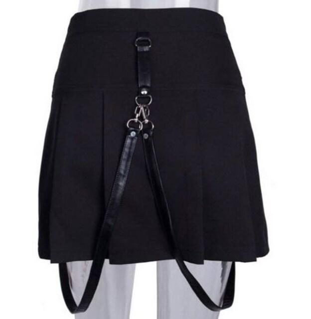 フリーサイズ ゴシック スカート レターパック < 女性ファッションの