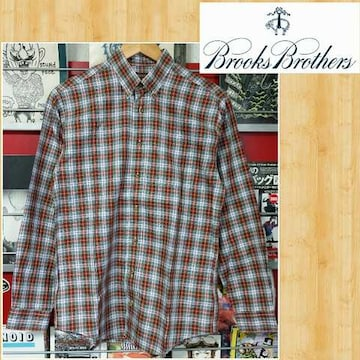 BROOKS BROTHERS ブルックスブラザーズ チェックシャツ 超美品 L