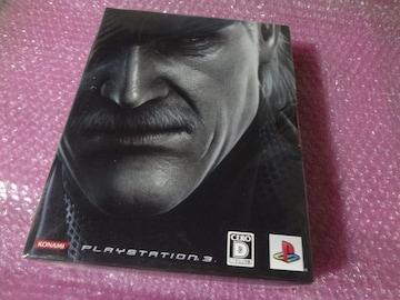 堀PS3  メタルギアソリッド4 限定版BOX 特典映像BD付