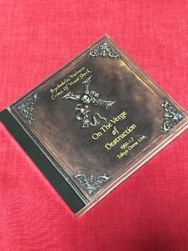 【即決】XJAPAN「破滅に向かって」(ライブアルバム)CD2枚組