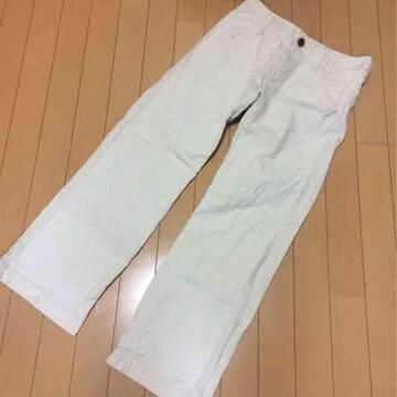 ビュルデサボン◆ナチュラル綿麻パンツ◆サイズ2