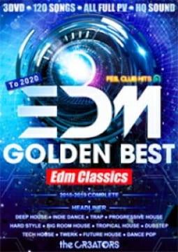 歴代定番EDM完全網羅!★3枚組★ EDM GOLDEN BEST-