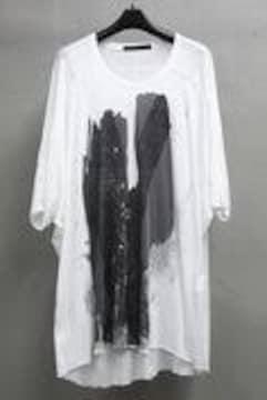 MA JULIUS 14SS プリントカイト カットソー Tシャツ BIG