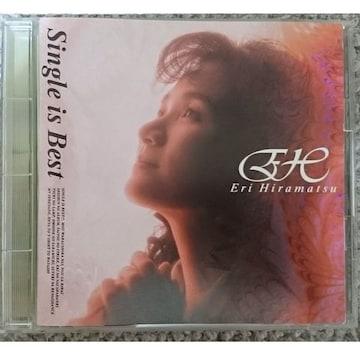 KF 平松愛理 CDアルバム Single is Best