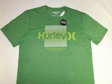ハーレー【Hurley】ロゴプリントTシャツUS M グリーン
