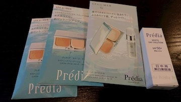 コーセーKOSEプレディアPrediaファンデーション、ホワイトデイソリューション10gサンプル試供品