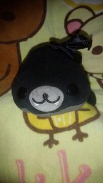 まめごま ハロウィン ぬいぐるみ (黒)