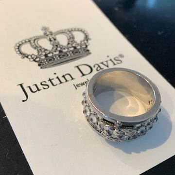 ◆JUSTIN DAVIS◆REVOLT RING◆15号◆クラウンリング◆57,200円