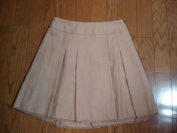 anysis エニィシィス かわいいウール混デザインスカート