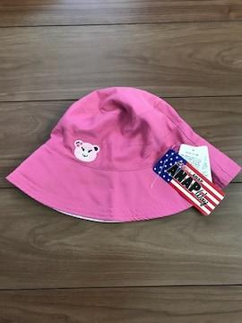 新品タグ付き☆ANAPコラボしまむらリバーシブル帽子
