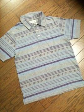 新品GLOBAL WORK メキシカン柄ポロシャツ グローバルワーク