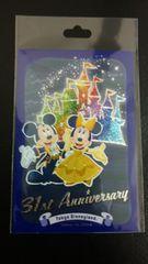 完売 ディズニーランドTDL 31周年 美女と野獣 ミッキー & ミニー / ポストカード