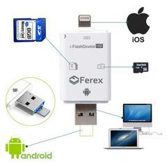 容量不足!SDカードリーダー iPhoneAndroid対応