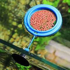 吸盤付きフィーダーカップ 魚 水槽 エサ入れ 1/AE4