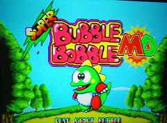 Super Bubble Bobble MD/バブルボブルMD