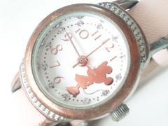10520/ディズニーStore限定商品のミニーマウスピンクレディース腕時計素敵