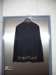 ドレスキャンプ〓ニットカットソー〓黒/44〓DRESS CAMP