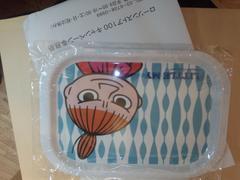 ムーミン〜ローソンストア100キャンペーン〜角皿〜リトルミイ〜非売品