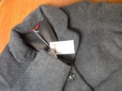 新品13号位LLアルパカ混ウール高級テーラードジャケットコート