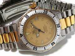 極レア 1スタ★タグ・ホイヤー 2000プロ【スイスメイズ】腕時計