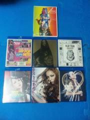 安室奈美恵 Blu-ray6枚+DVD1枚セット ブルーレイ LIVE TOUR ライブ