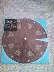 ケーキ型カードスティッチ