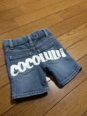 【美品】COCOLULU◆ココルル◆レア◆ロゴ入ハーフ◆90
