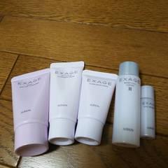 アルビオン☆エクサージュ☆クレンジング、洗顔、モイストフルローション、美容液