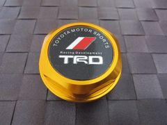 TRD トヨタ オイル フィラー キャップ ゴールド