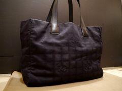 美◆CHANEL シャネル ニュートラベルライン A4対応トート バッグ