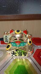 ジャンボ宝くじ三億円招き猫縁起物