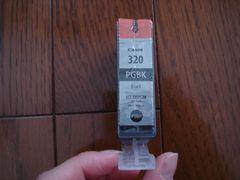 キャノン インクトナーカートリッジ ブラック320★新品 1円