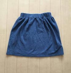 JURIANO JURRIE☆デニム調スカート♪ブルー