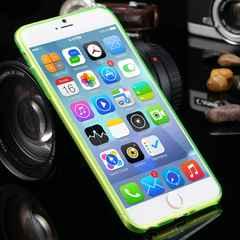iphone6s/6  plus (5.5inch) ケース シリコンカバー グリーン