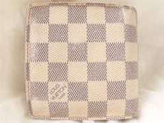 4422/Louis Vuittonルイビトン人気ダミエアズール2つ折り財布格安出品
