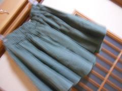 100円スタート*レトロガール*カーキスカート☆クリックポスト164円