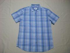 45 男 CK CALVIN KLEIN カルバンクライン チェックシャツ M