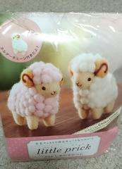 500円☆羊毛フェルトキット☆しあわせひつじ