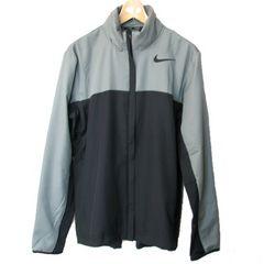 新品●NIKE グレー×黒ハイパースピードラインドジャケット(L)