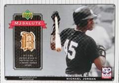 UPPER-DECK. 2001 マイケル.ジョーダン(MJ)・バットカード バーミンガムバロンズ