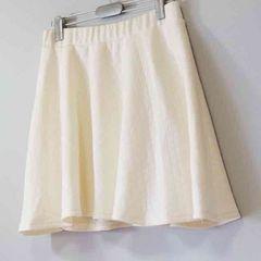 【新品】コルザ COLZA キルティング ミニスカート ホワイト