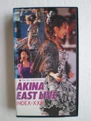 AKINA EAST LIVE [ [VHS]  / 中森明菜