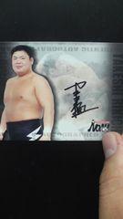 2001 RIKIOH TAKESHI 直筆サインカード