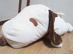 感謝祭スヌーピージャンボもちもち生地寝そべりぬい64�pブラウン