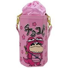 クレヨンしんちゃん≪ピンク≫合皮製チョコビ型ボトルホルダー