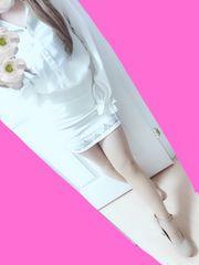 ビジュー付き♪ホワイトバンテージタイトスカート♪ミニスカート